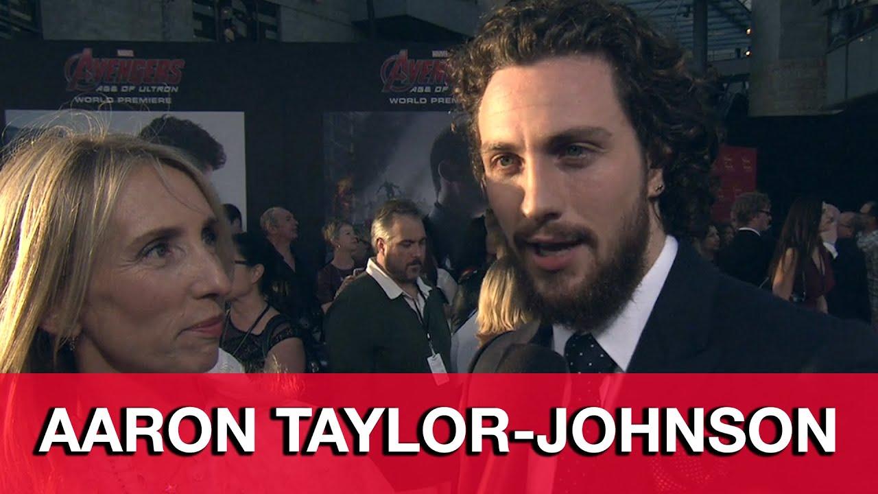 Avengers Age of Ultron Premiere - Aaron Taylor-Johnson ...