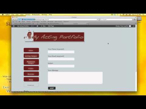 Contact Form 7 - Wordpress - Install and customization tutorial (in HD)