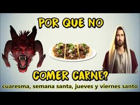 Es pecado comer carne en semana santa, Jueves y Viernes santo ...