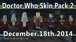 Minecraft - Doctor Who Skin Pack Volume 2! (December 18th 2014) 50+ More Skins!
