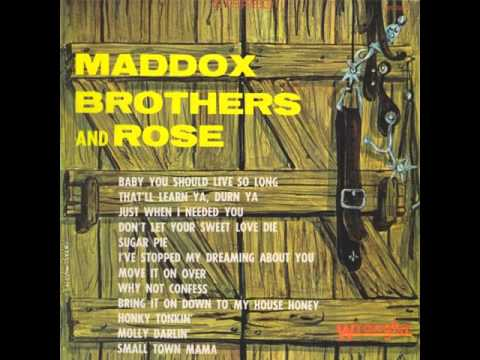 "Maddox Brothers and Rose ""Move It On Over"""