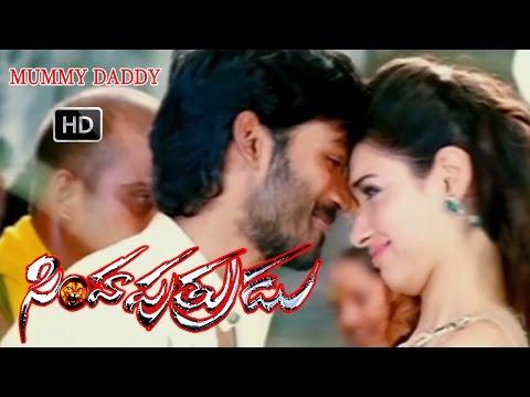 Simha Putrudu Telugu Movie Songs HD   Mummy Daddy Video Song   Dhanush, Tamanna   V9videos