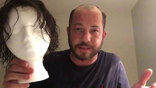 Hair Replacement Mens Hair System Review Trimming a lace system