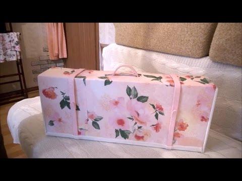 Как сделать дизайнерский чемоданчик своими руками. Интересные идеи для интерьера