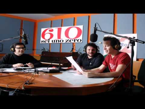 610 10/5/12 - 610 Live in 2D, in diretta dall'Auditorium di Roma