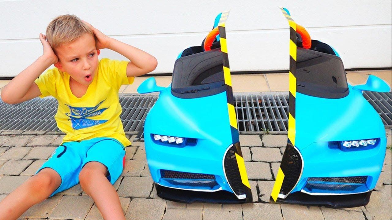 Vlad And Nikita Share Toys Youtube