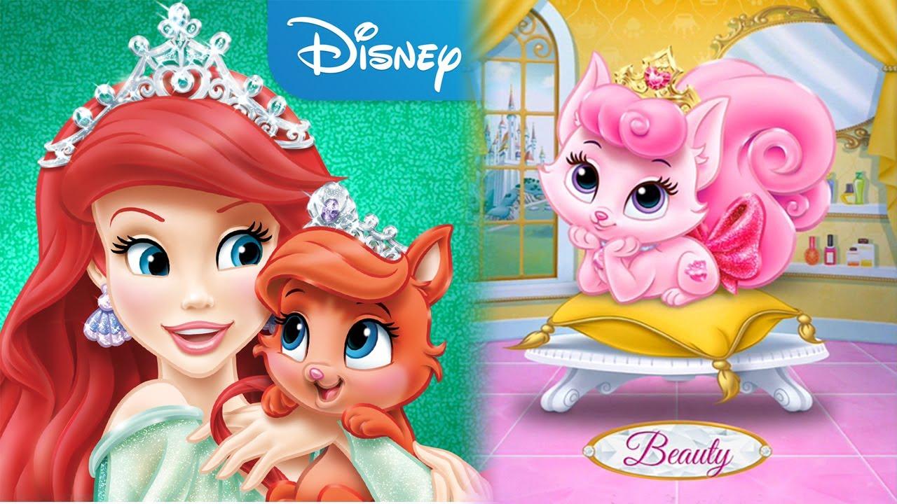 Disney Princess: Palace Pets - for KIDS - YouTube