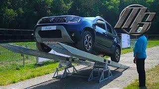 🔴 2018 Dacia Duster - Capability test | Best Car - Motorshow