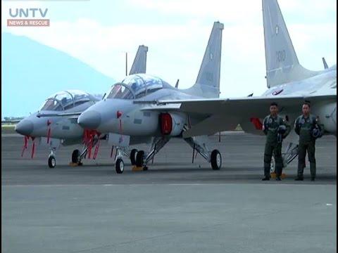Dalawa pang FA-50 jet mula Korea, natanggap na ng Philippine Air Force