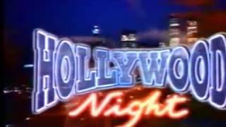 Générique Hollywood Night Emission TF1 Samedi Soir (1995)