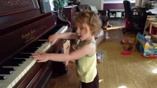 Olivia's singing Trolls song 4/14/17