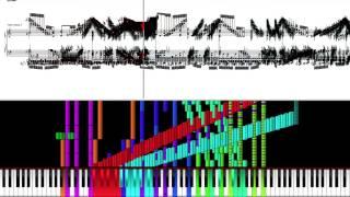 [Black MIDI] Black Score - Tetris Theme A 90K Notes | NO LAG