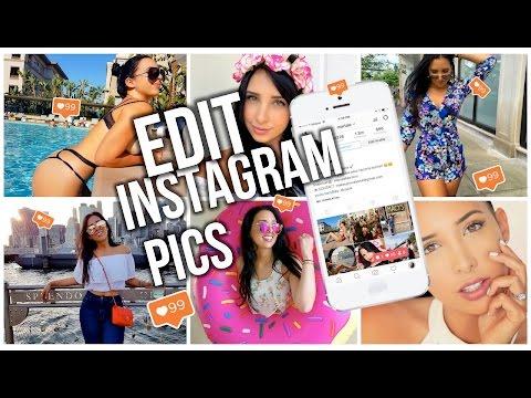 HOW I EDIT MY INSTAGRAM PHOTOS!!! - Mar ♥