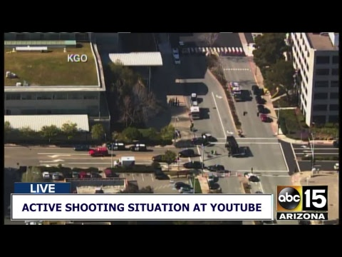 NOW: Reports of gunfire at YouTube Headquarters in San Bruno, California
