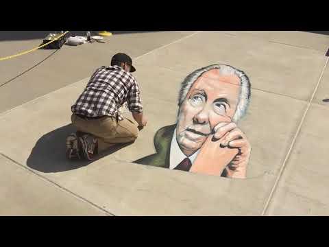 SC Johnson Chalk Art Adds Vibrancy to Tours