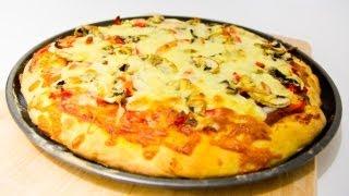 10 MINUTE Pizza Dough Recipe