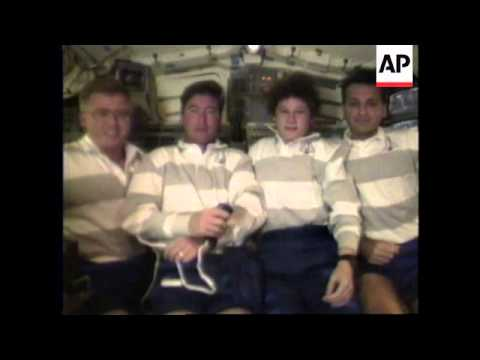 USA: EXPERIMENTS ON SHUTTLE CREW FOR EFFECTS OF WEIGHTLESSNESS