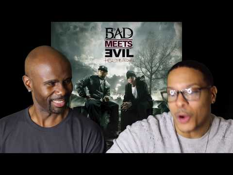 Bad Meets Evil - Fast Lane ft. Eminem, Royce Da 5'9 (REACTION!!!)