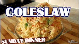 The Best Coleslaw For Sunday Dinner | Recipes By Chef Ricardo