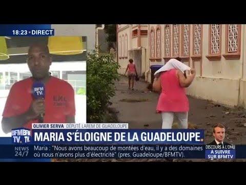 """Maria: selon Olivier Serva, député LRM de Guadeloupe, """"on déplore un mort"""""""