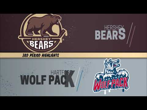 Hershey Bears 5 at Hartford Wolf Pack 3 (3/10/2019)