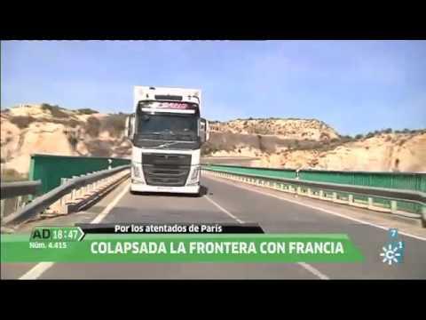 Camioneros de Antas en las fronteras europeas