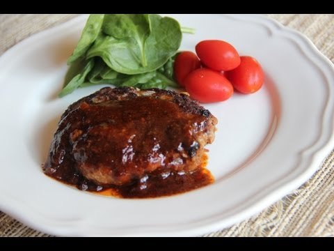 Hamburger Steak Recipe - Japanese Cooking 101