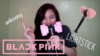 unboxing BLACKPINK Lightstick!!!