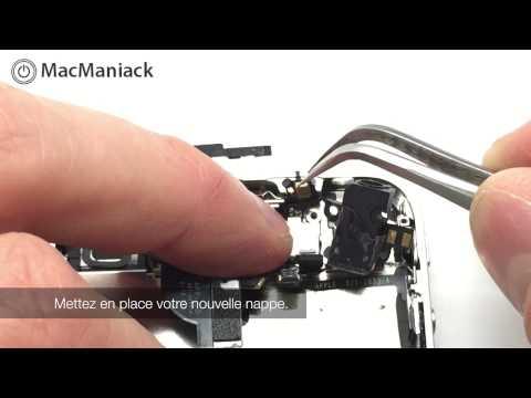 Comment remplacer le bouton verrouillage/Power/ON-OFF sur un iPhone 4 ? Tutoriel complet.