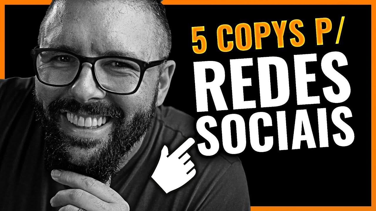 Download 5 COPYS PARA VENDER NAS REDES SOCIAIS (Copywriting Infalível Para Instagram Whatsapp Youtube)