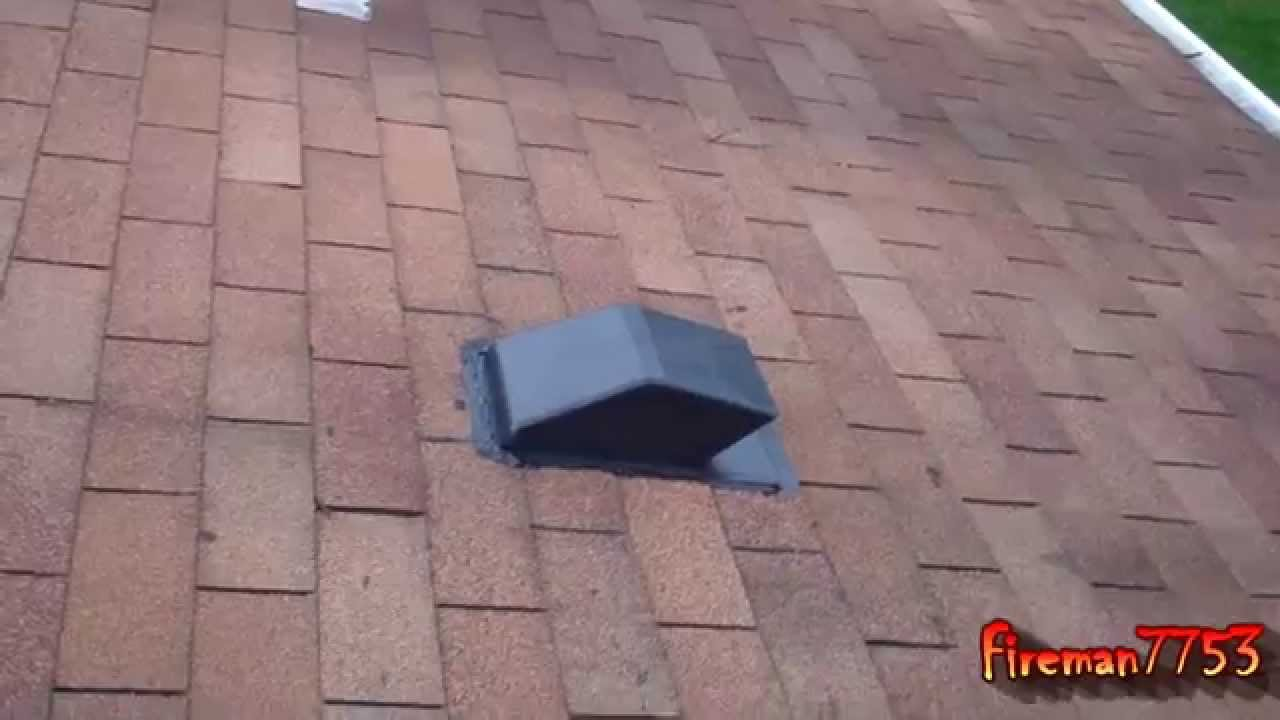 Adding a Roof Vent for My Range Part 2 - YouTube for Roof Kitchen Exhaust Fan  565ane