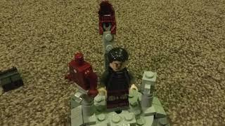 Lego iron man Mark 3 suit up