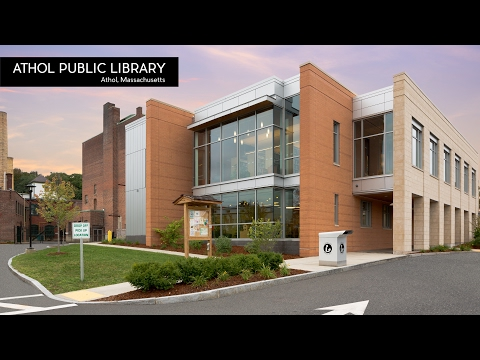 Architecture Spotlight #100 | Athol Public Library by Tappé Architects | Athol, Massachusetts