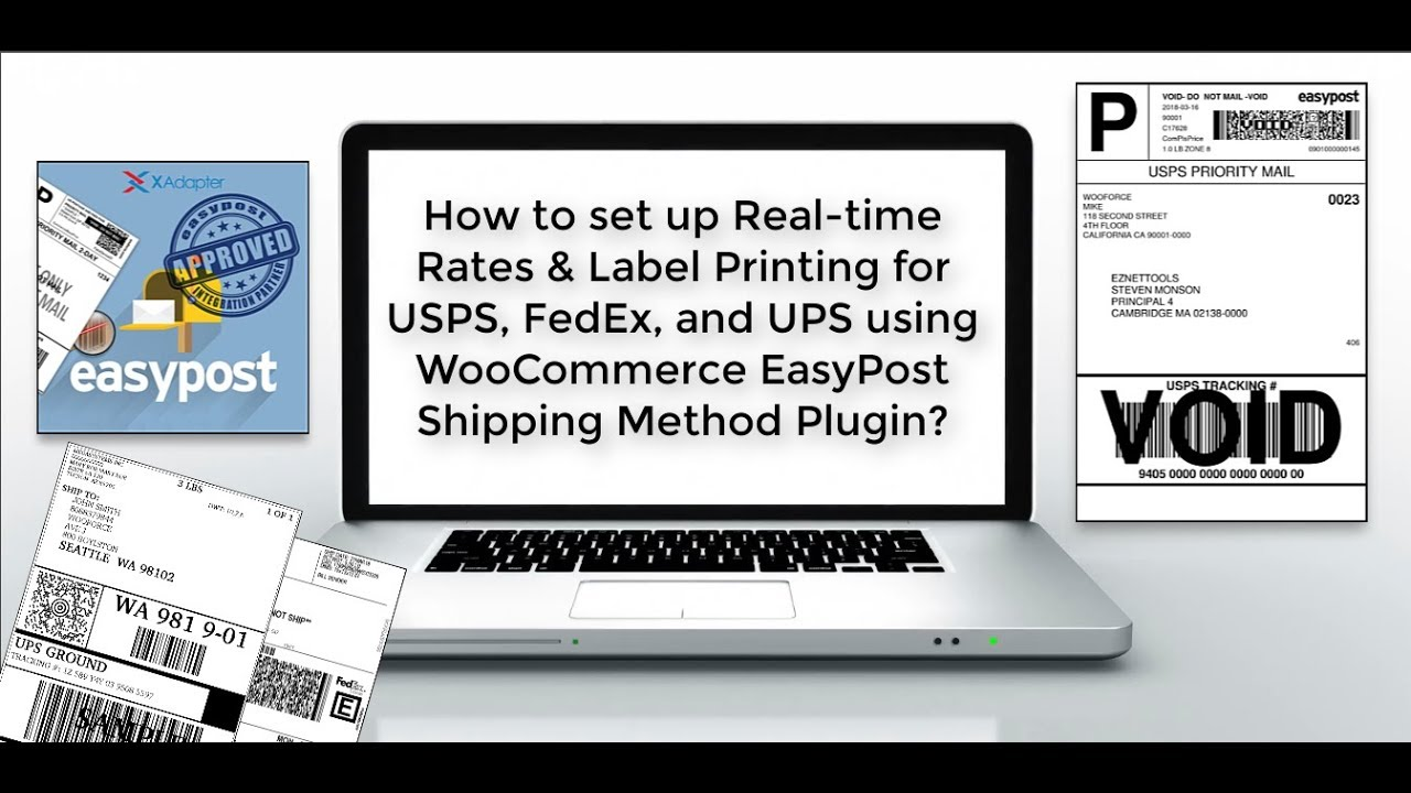 ELEX EasyPost (FedEx, UPS & USPS) Shipping & Label Printing Plugin for  WooCommerce