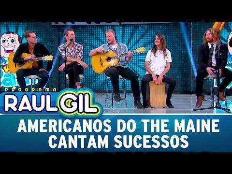 Grupo Americano The Maine Canta Sucessos | Programa Raul Gil (29/07/17)