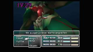 Final Fantasy VII - Smaragd Weapon - Speedrun