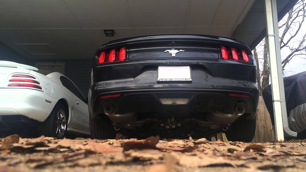 2015 mustang 3 7 v6 stock exhaust cold start