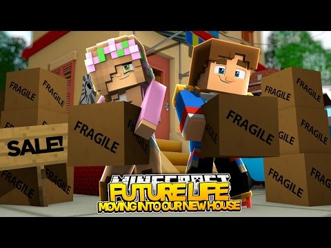 LITTLE KELLY AND DONNY MOVE IN TOGETHER! | Minecraft Our Future Life  (Roleplay)
