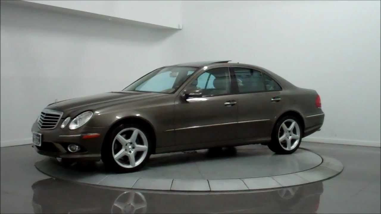 Great 2009 Mercedes Benz E350 4Matic AMG Sport   YouTube