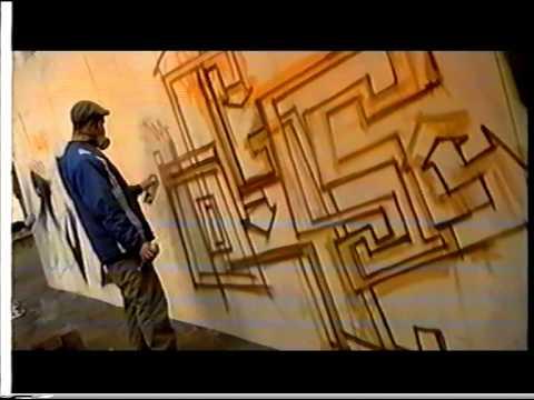 Graffiti jam Back To Planet Rock event 1998