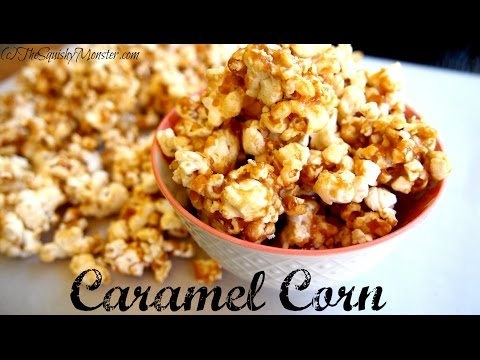 NO-BAKE Easy Caramel Corn Recipe
