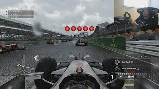 F1 2017 GAMEPLAY Preview: 2008 Mclaren MP4/23 at Silverstone