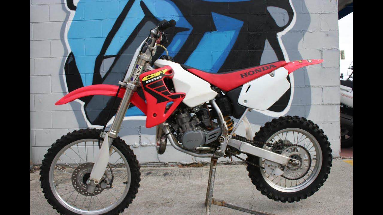 2002 Honda CR80 Expert MX Motorcycle For Sale - YouTube