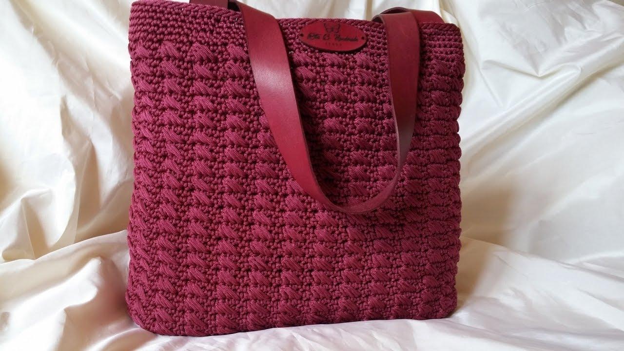 Tutorial Bacco Bag Crochet Punto Bacco