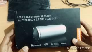 【UNBOXING】Lenovo 500 BT Speaker