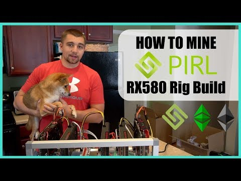 How To Mine PIRL - A ETH Fork W/ Masternodes + RX580 8gb Mining Rig Build Guide