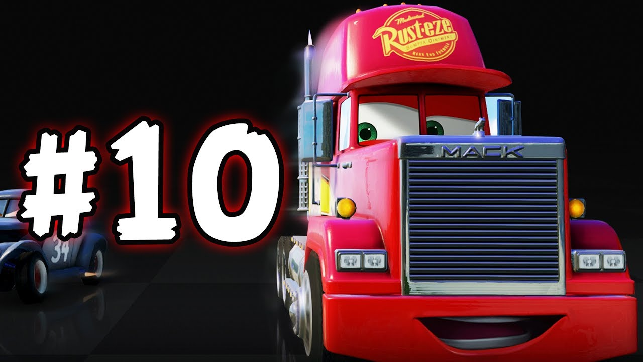 cars 3 the videogame part 10 mack the truck is. Black Bedroom Furniture Sets. Home Design Ideas