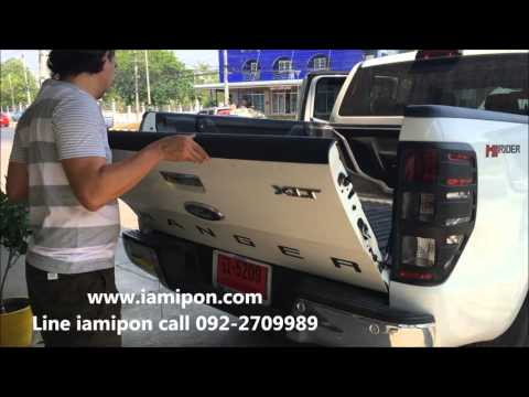review โช็คฝาท้าย FOR FORD RANGER T6-MC & MAZDA BT50 PRO BY IAMIPON