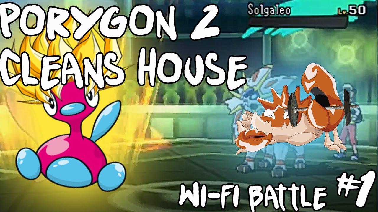 porygon2 pokemon moon - 1280×720