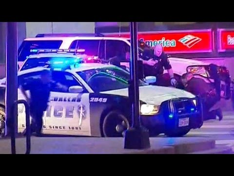 Dallas Shooting | Panic and Chaos in Texas